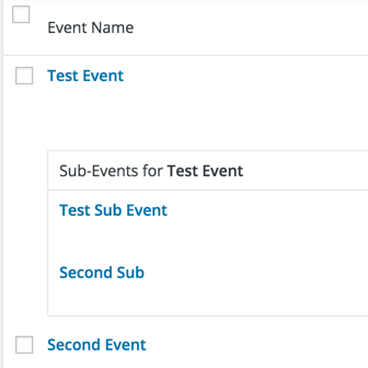 Multiple Events